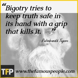 themes in tagore s short stories bigotry tries to keep truth safe in its hand with a grip
