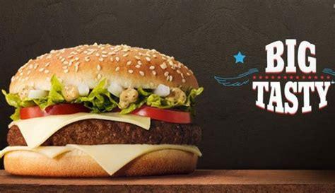 bid tasty big tasty 2017 chez mcdo retour 233 t 233 2017 original poulet