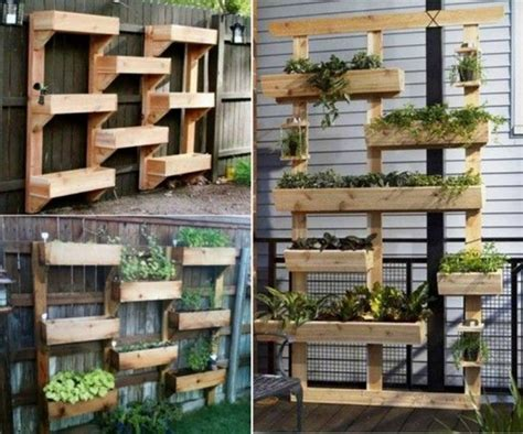 wood garden wall home decor some vertical garden ideas things
