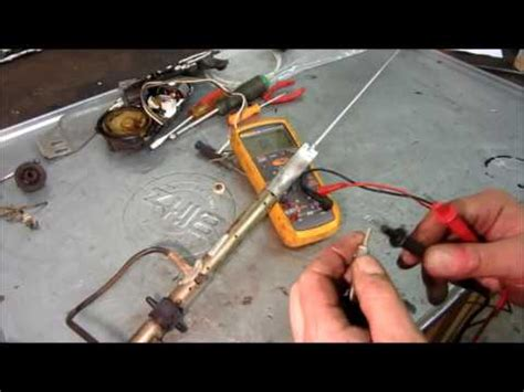 gm power antenna repair replace cable motor runs all the time