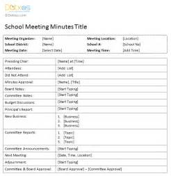 Business Meeting Minutes Template Minutes Of Meeting Template Best Business Template