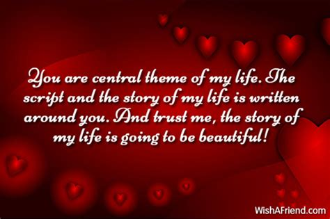 themes of story of my life you are central theme of
