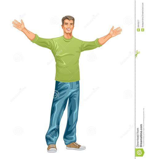 imagenes surrealistas de hombres hombre feliz ilustraci 243 n del vector ilustraci 243 n de fresco