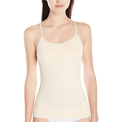 amoena valetta pocketed camisole with built in shelf
