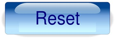vivofit reset red bar reset button png clip art at clker com vector clip art