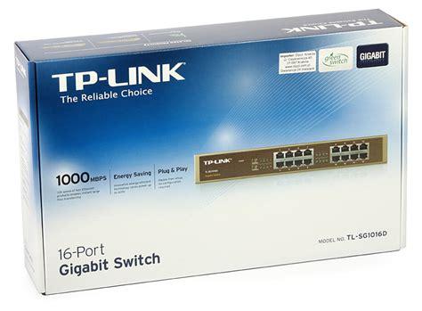 Tp Link Tl Sg1016d 16 Port Gigabit Switch Desktop Diskon 16 port gigabit switch tp link tl sg1016d
