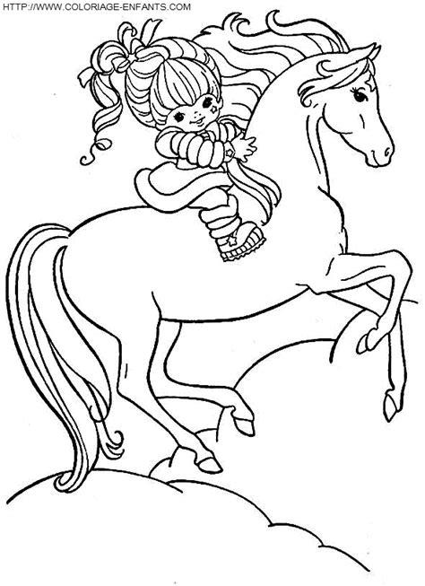 Coloriage Cheval Feerique 224 Imprimer Et 224 Colorier Cheval Qui Se Cabre Free To Print Coloriage De Cheval L