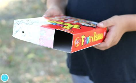 home made solar eclipse box how to make a cereal box eclipse pinhole projector on the side
