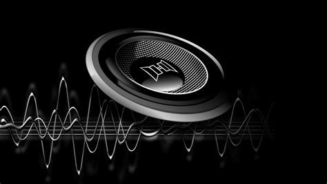 music speaker wallpaper desktop hd wallpaper black music speaker background wallpapers