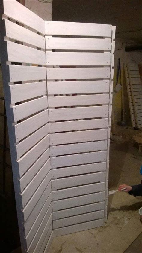 Pallet Room Divider Wooden Pallets Room Divider Pallet Furniture Diy