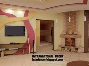new wall design modern gypsum board wall interior designs and decorative