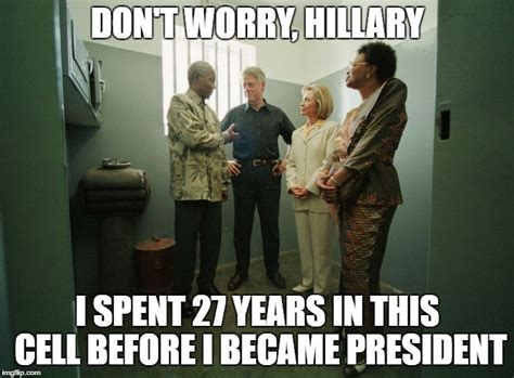 Hillary Clinton Cell Phone Meme - hillary in jail imgflip