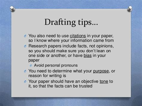 3 Tips To Using Packaging - iii drafting the research paper