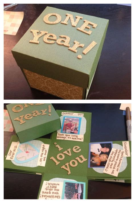 One year anniversary gifts for him dating site