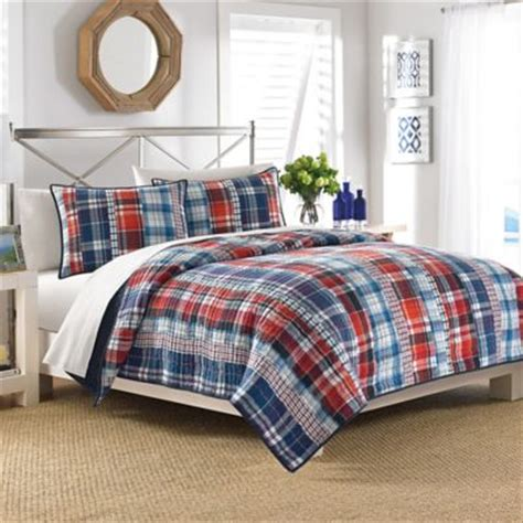 blue plaid bedding buy red and blue plaid bedding from bed bath beyond