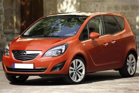 Opel Modèles rappel de v 233 hicules opel meriva mod 232 le 2013