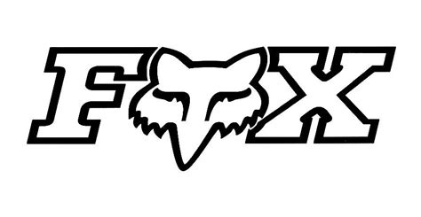 fox logo colouring pages clipart best clipart best