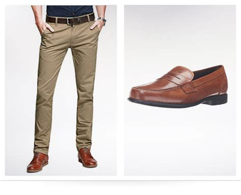 what color dress shoes go with khakis style guru