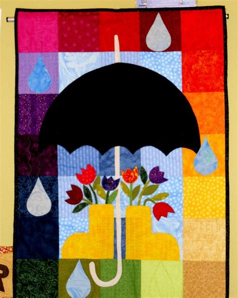 quilt pattern girl with umbrella 15 best images about quilting umbrellas on pinterest