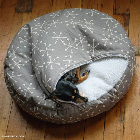 how to make a dog pillow bed 15 ways to sew for your pets hobbycraft blog