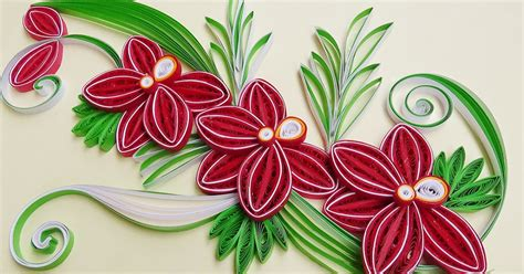 How To Make A Paper Quilling Flower - paper quilling how to make a beautiful flower orchids
