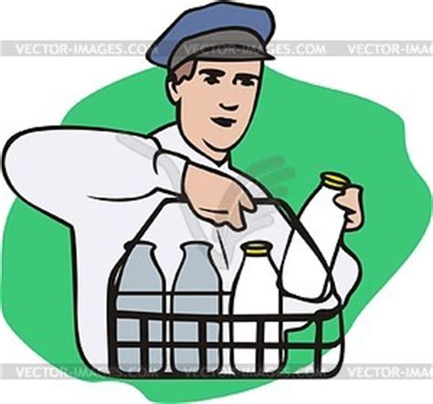 coloring page india milkman vector clipart