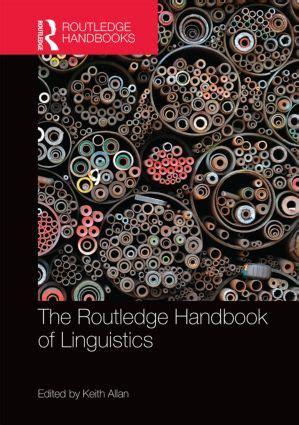 event design routledge the routledge handbook of linguistics hardback routledge