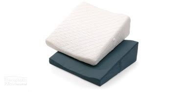 Angled Bed Pillow by Bed Pillow Contoured Bed Wedge Support Pillow Therapeutic Pillow