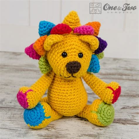 amigurumi pattern lion logan the lion amigurumi crochet pattern