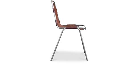 sedie acciaio e pelle sedia design industriale vintage acciaio e pelle premium