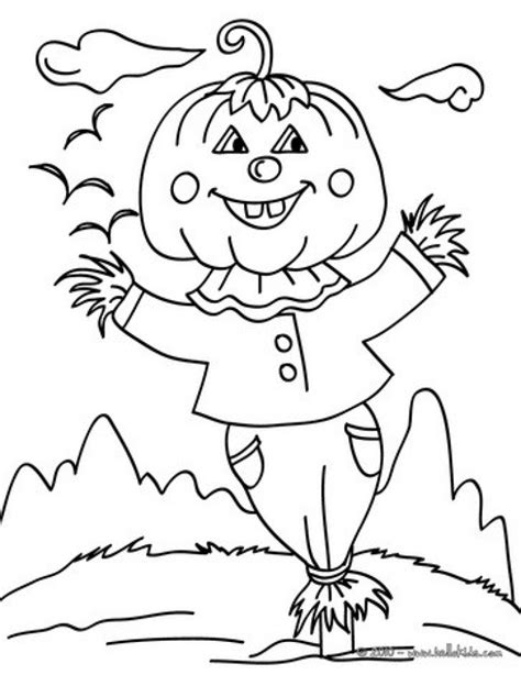 easy scarecrow coloring pages get this easy preschool printable of scarecrow coloring