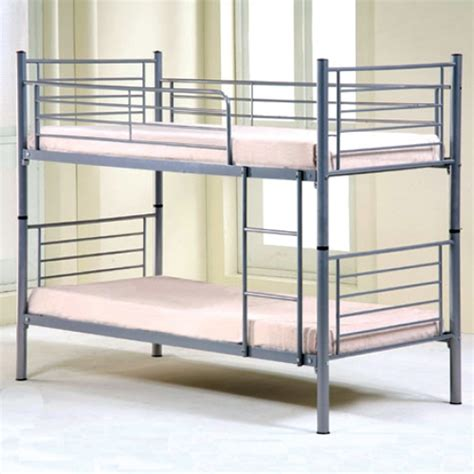 Simple Bunk Beds Simple Metal Bunk Bed Room Ideas