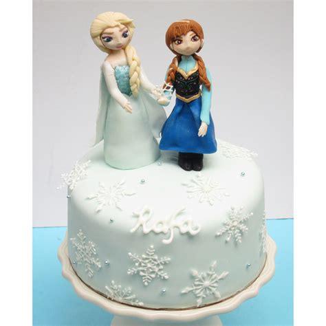 frozen cake  queen elsa  princess anna cakecentralcom