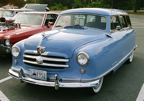 blue station wagon 1952 nash rambler station wagon in baby blue 1350 x 950