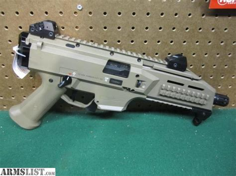 fde color armslist for sale brand new cz scorpion evo 3 s1 9mm