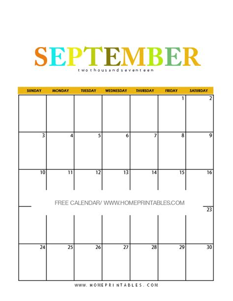 printable planner september 2017 calendar september 2017 8 free pretty printables home