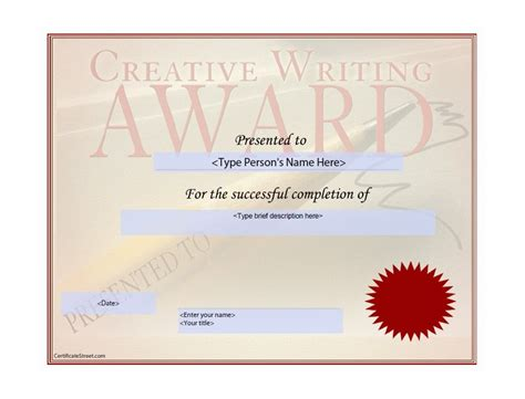 magnificent award paper template images exle resume