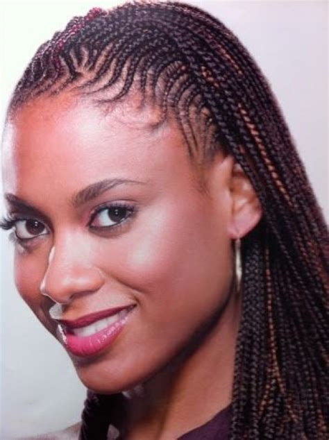 box braids in front weave in back braids back to front two front french braids to crossed