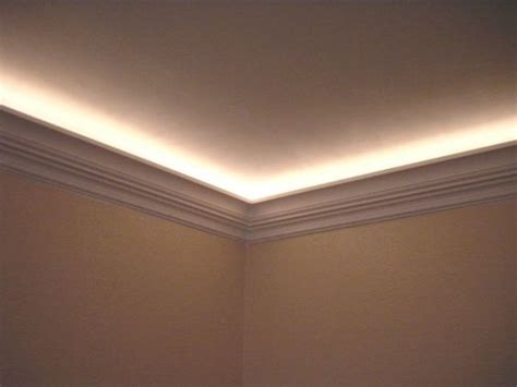 crown molding with lighting effects wood shop thegunrack