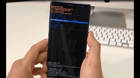 reset samsung manual how to reset samsung galaxy note 8 hard reset and soft