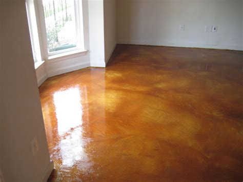 Step by Step Overview for Acid Stained Concrete Floors in