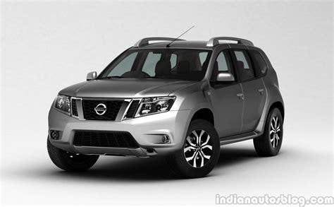 nissan terrano nissan terrano unveiled in india