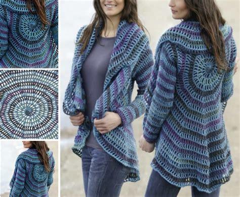 pattern crochet jacket crochet circular jacket pattern free