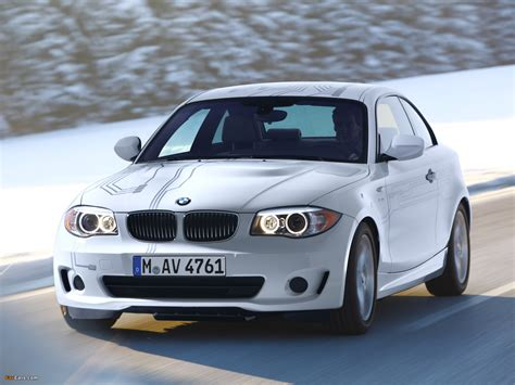 Bmw 1er Coupe Test by Bmw 1 Series Coupe Activee Test Car E82 2011 Wallpapers