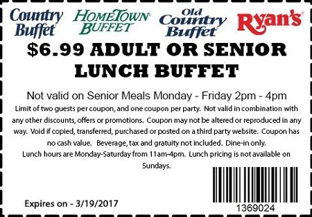 table lunch buffet coupon table lunch buffet coupon choice image table