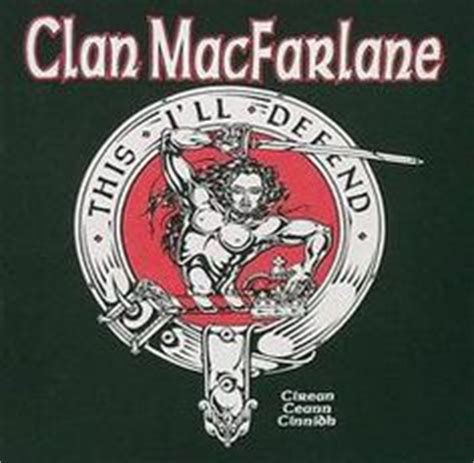 1000 images about clan macfarlane on crests