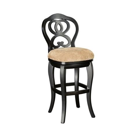 hammary bar stools hammary hidden treasures 30 quot bar stool in black t73185 22