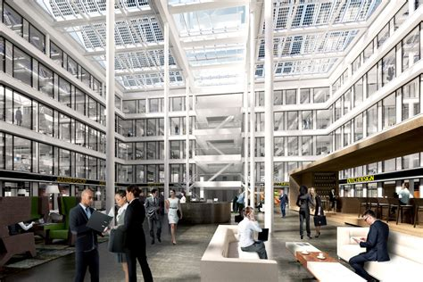 glass atrium proposed for 100 federal st boston herald the building atrium the cloud
