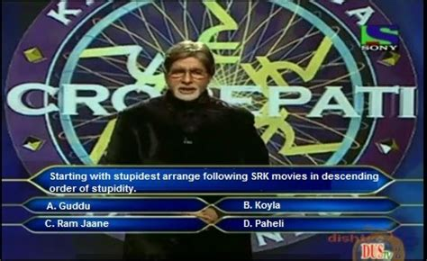 And Non Veg Question Side Of Kbc Questions