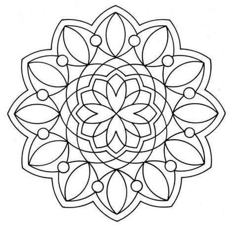 flor mandala para imprimirflor mandala dibujos para colorear mandala con flores es hellokids com